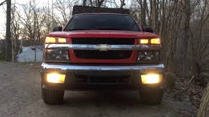 Replace Colorado / GMC Canyon Headlight Fog Lamp - EASY - YouTube