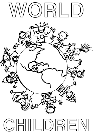 Small Picture Free Online Children Of The World Coloring Pages 25 For Images