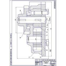 Курсовая работа на тему Ремонт корпуса масляного насоса двигателя  Курсовая работа на тему Ремонт корпуса масляного насоса двигателя Д 37 дефект 4 5