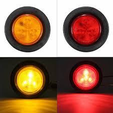 Kopen Goedkoop 2 Ronde Side Marker 4 Led Licht Signaal Lamp