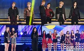 Monsta X Mamamoo Twice And More Winners Of The 2019