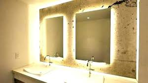 Illuminated wall mirrors for bathroom Wall Design Illuminated Wall Mirrors For Bathroom Brilliant Lighted Intended Plan 11 Illuminated Wall Mirrors For Bathroom New Amazon Com Mounted Lighted