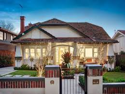 Small Picture Brick californian bungalow house exterior with bay windows