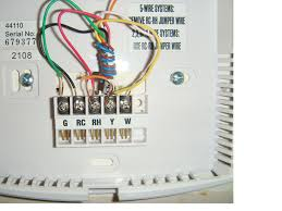 hunter wire thermostat diagram bo wiring diagram blog hunter 5 wire thermostat diagram bo1 we tried to turn my ac on for the