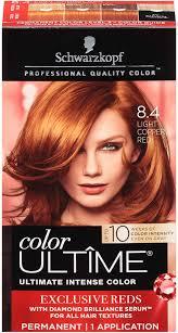 Light Copper Red Hair Schwarzkopf Ultime Hair Color Cream 8 4 Light Copper Red