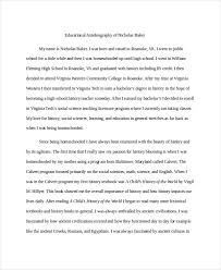 sample authobiography example of an autobiography a college  53 sample authobiography achievable sample authobiography educational autobiography example facile captures medium image