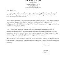 Legal Administrative Assistant Cover Letter Immigration Sample