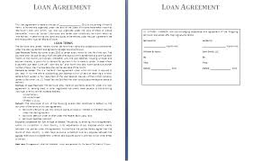 Formal Business Loan Agreement Template Examples V M D Com
