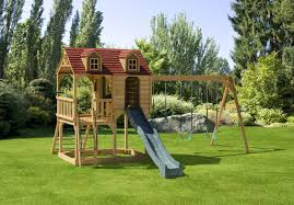 picture of 605 little rancher s rest swing set