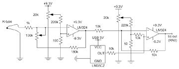 k type thermocouple circuit diagram wiring diagram for you • the temperature measurement circuit based on a k type thermocouple rh researchgate net k type thermocouple wiring diagram material type k thermocouple wire