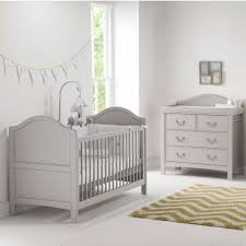 grey furniture nursery. East Coast Nursery Furniture Cot Bed/Dresser Toulouse 2 Piece Room Set In Grey