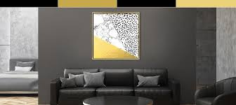 black white gold canvas art icanvas