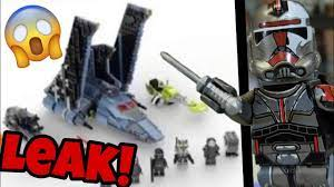😱HUGE LEGO STAR WARS BAD BATCH SHUTTLE ...