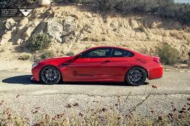 BMW Convertible custom m6 bmw : Red BMW M6 Puts On 21