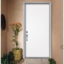 flush primed fiberglass front door slab