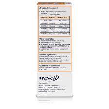 Childrens Motrin Oral Suspension Dye Free Berry Ibuprofen Fever Reducer 4 Oz