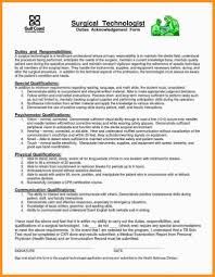 Rare Surgical Technician Resume Examples Tech Sample Technologist