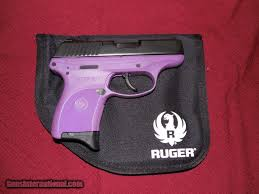 ruger lc9 pg 9 mm purple black 7 round