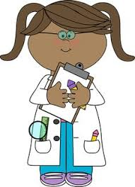 doctor clipart for kids. Brilliant Doctor Girl Scientist With Insect Jar Clip Art   Vector Image Throughout Doctor Clipart For Kids 0