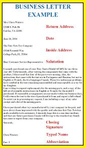 standard format for a business letter business letter sample format example piqqus com