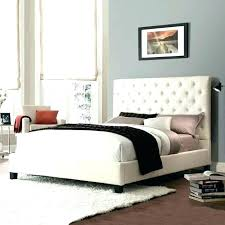 Full Size Quilted Bed Frame Bedrooms Agreeable Upholstered Beds ...