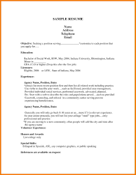 10 Simple Job Resume Templates Mbta Online