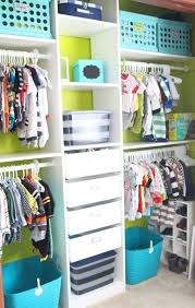nursery closet organization easy diy baby closet ideas concept of easy closet organizer