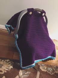 baby car seat blanket pattern