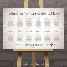 Pirates Voyage Seating Chart World Map Wedding Seating Chart Travel Theme City