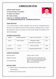 Book Of Job Application Resume Format Zlatanblog Com