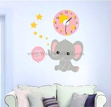 elephant wall decals clock of baby elephant wall decals african elephant wall decals elephant wall decals