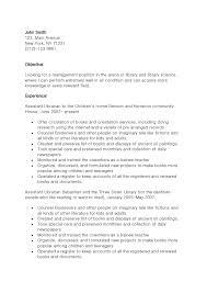 Resume Format For Librarian Freshers Sidemcicek Com