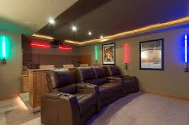 themed family rooms interior home theater:  interesting ideas design abbott court basement finished basement company inspiration ideas