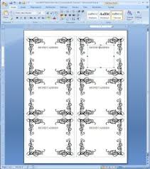 Avery 8167 Template Word Microsoft Word Label Templates 14 Per Sheet Address Template 21 24