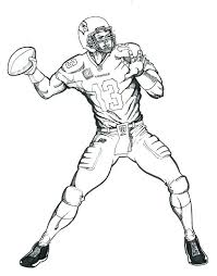 nfl coloring book packed with coloring book pages inspirational cowboys football player coloring pages sheets printable