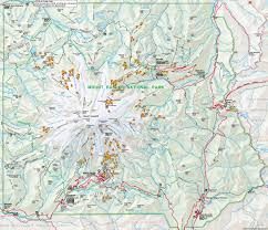 turns all year  mt rainier clickable relief map