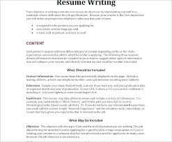 Objective Resume Statement Career Change Objective Resume Career ...