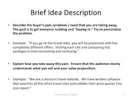 Business Brief Example Business Brief Example Barca Fontanacountryinn Com