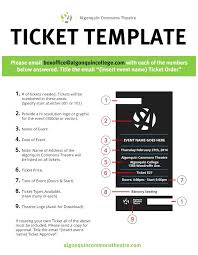 Admission Ticket Template Free Download Theatre Invitation Templates Free Printable Theatre Ticket Template