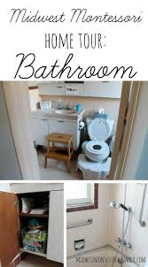 preschool bathroom design. Montessori Home Tour, A Look At Bathrooms Preschool Bathroom Design H
