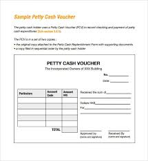 Petty Cash Receipt Template Free 14 Petty Cash Receipt Samples Templates In Pdf