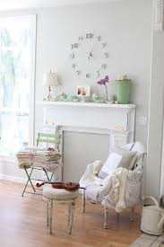 living room shabby chic decorating idea design dreamy whites