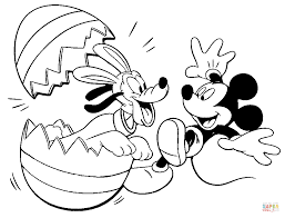 Small Picture Pluto and Mickey coloring page Free Printable Coloring Pages