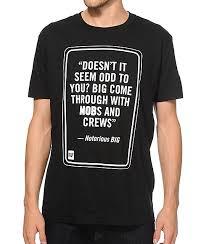 Mob x Rap Quotes BIG TShirt Zumiez Magnificent T Shirt Quotes