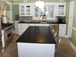 black counter kitchen granite e58 counter