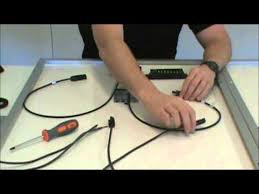 solar panel wire to charge controller basic set up