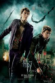 best harry potter characters creatures images  hq action poster for harry potter and the deathly hallows part 2 featuring fred george weasley hd and background photos of deathly hallows part