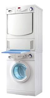 haier stackable washer and dryer. haier combo washer dryer set front load hbf1055tve - hdy6-1 stackable and u
