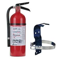 pro 2a 10 b c fire extinguisher bundle with 5 lb mounting