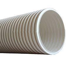 pvc pvc u double wall corrugated drain pipe